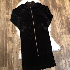 Juicy Couture Velour Maxi Dress size M 8-10